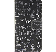 Mathematical Formula Design PU Leather Full Body Protective Case with Stand Wiko Wax