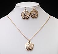 European Fashion  Hollow Jewelry Set series 3