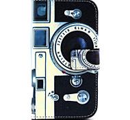 Retro-Kamera-Muster PU-Leder-Telefonkasten für Galaxie Kern prime G360 / galaxy Kern prime G530