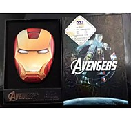 Iron Man 6000mAh Multi-Output Power Bank External Battery for iPhone6/Samsung Note4 and other Mobile