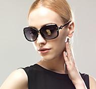 Sunglasses Women's Elegant / Retro/Vintage / Modern / Fashion Oversized Black / Red / Leopard Sunglasses Full-Rim