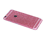 Full-length Front+Back+Side Shining Glitter Sticker for iPhone 6(Assorted Colors)