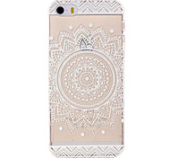 Hollow Flower Pattern Ultrathin Hard Back Cover Case for iPhone 5/5S