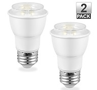 2PCS Vanlite E26 7.5W 500lm LED Spot Bulbs Dimmable COB PAR16 Light UL-Listed and Energy Star-Qualified