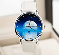 Fashion Shooting Star Waterproof Case European Style Vintage Unisex Watches Starry Sky Watch Men And Women Watch
