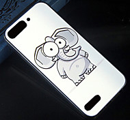 Cartoon elephant Pattern Design Pattern Back Cover Protective Hard Case for Huawei Ascend G6