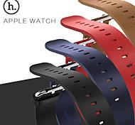 HOCO echtes Leder Uhrenschließe Bandbügel Adapter Band für Apfel Uhr iwatch 38mm