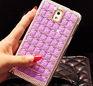 For Samsung Galaxy Case Rhinestone Case Back Cover Case Geometric Pattern PC Samsung S5