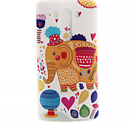 colore elefante materiale modello TPU soft phone per lg mini g3