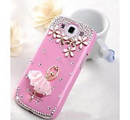 The Ballet Girl Diamond Case for Samsung Galaxy S3 I9300 (Assorted Color)