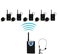 2.4G Digital Wireless Tour Guide / Translation system (1 Transmitter 5 Receiver)