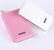 Power Bank High quality leathery surface Charge for all kinds of Smart Phones High efficiency 5000mAh