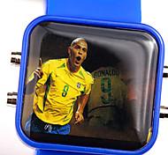 Men'S Watch Sport Watch Timing  Multifunctional Students Watch  Waterproof Watch Silica Gel