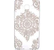 Hollow Flower Pattern PC Hard Case for Samsung Galaxy A3