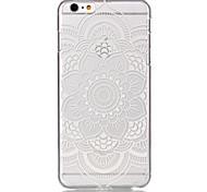 полый цветочный узор ультратонких Твердый переплет дело на Iphone 6