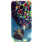 Balloon House  Pattern TPU Hemming Phone Case For Galaxy A3 /A5 /A7