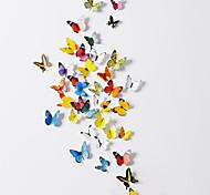 ПВХ Пластик Свадебные украшения-38Шт./набор Бабочки