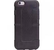iphone 6 más case armadura dura para el iphone 6 más (colores surtidos)