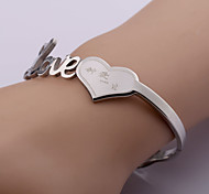 Classic Fashion Love Stainless Steel Bracelet