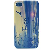 Sunrise Dayan Pattern PC Material Phone Case for iPhone 4/4S