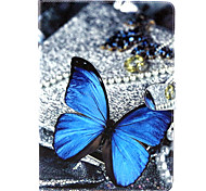 Butterfly  Pattern PU Leather Full Body Case with Stand for iPad air/ipad5