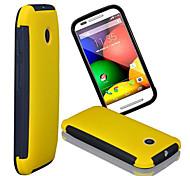 nuova schermata funzionale solido TPU e touch e custodia in plastica per Motorola MOTO e (colori assortiti)