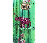 Voor Samsung Galaxy hoesje Patroon hoesje Achterkantje hoesje Olifant TPU SamsungS6 edge / S6 / S5 Mini / S5 / S4 Mini / S4 / S3 Mini /