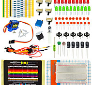 Arduino Electronic Component Package Kit Containing Resistance Card