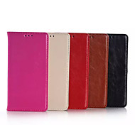 5.2 Inch Crazy Ma Pattern Luxury Genuine Leather Wallet Case for Huawe P8 (Assorted Colors)
