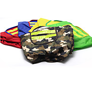 Red/Green/Blue/Yellow Cotton Rain Coat For Dogs
