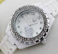 Women's Ceramic Waterproof Quartz Watch (Assorted Colors)