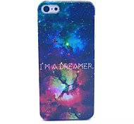Star Pattern PC Material Phone Case for iPhone 5C