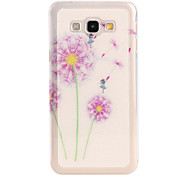 Color dandelion Pattern TPU Soft Case for Galaxy A8