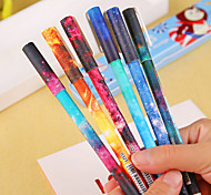 Starry Sky Series 6-Color Gel Pen Set(6 PCS)