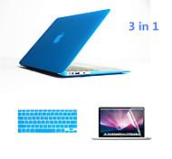 """3 in 1 Ganzkörperhartplastik-Hüllen mit Tastatur flim und HD Display Schutz für MacBook Retina 13.3 """"(verschiedene Farben)"""