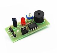 Sound & Light Vibration Detection Sensor Alarm Module for Arduino - Green + Black