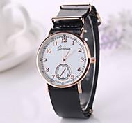 New  Fashion Pu Leather Strap Momen    Clock Relogio Quartz Casual Wrist Watch Momen 2015
