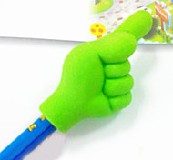 Finger Gesture Pencil Top Eraser (Random Color)