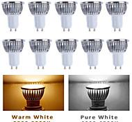 5W GU10 / GU5.3(MR16) / E26/E27 Spot LED MR16 5 LED Haute Puissance 350-400 lm Blanc Chaud / Blanc Froid AC 85-265 V 10 pièces