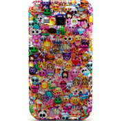Lovely Face Pattern Glitter TPU Cell Phone Soft Shell For Galaxy J1/ J5 /J7 /G530 /G360