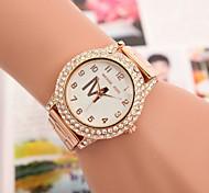 Women's Watches Swiss Quartz Watches Fashion Diamond Alloy Steel Watch Cool Watches Unique Watches