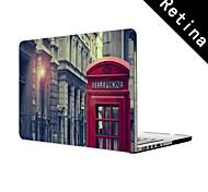 """diseño de la cabina de teléfono funda protectora de cuerpo completo de 13 """"/ 15"""", MacBook Pro con pantalla de retina"""