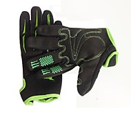 Outdoor Men's  Wearproof Breathable Anti-skidding Full Finger Cycling Gloves