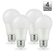 4pcs Vanlite E26 6W 500lumen LED Bulb Light A19 Dimmable 40watt Equivalent Energy Saving (AC100-120V)