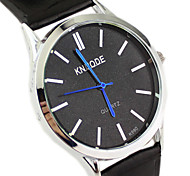Men's Watch Fashion Dress Watch PU Band