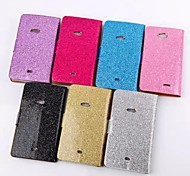 Plating Powder Fashion Mobile Phone Leather Phone Cases for Nokia Lumia 625(Assorted Colors)