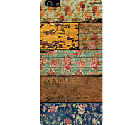 Decorative Pattern Pattern Phone Back Case Cover for iPhone5C