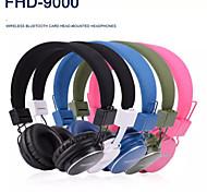 auricolare wireless Bluetooth handsfree cuffia auricolare con microfono supporto carta di TF di trasporto di UPS DHL HKPAM CPAM