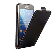 For Samsung Galaxy Case Flip Case Full Body Case Solid Color PU Leather Samsung Grand Prime
