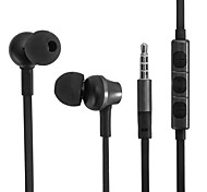 U-09 3.5mm Plug In-Ear Earphones with Microphone for Samsung and Smartphones (Assorted Color)